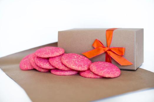 cookies, valentine's day, pediatric cancer, we are good cookies, pink sugar