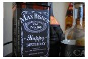jack daniel's birthday label